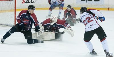 """Optibet hokeja līgas regulārā čempionāta spēle starp """"Prizma"""" un """"Zemgale/LLU"""" Volvo SC ledus hallē Rīgā 2018. gada 23. janvārī."""