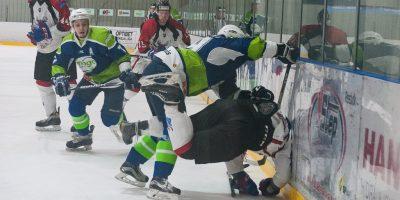 """Optibet hokeja līgas izslēgšanas kārtas piektā spēle starp HK """"Mogo"""" un HK """"Zemgale/LLU"""", Mogo ledus hallē, Rīgā, 2018. gada 04. martā. Foto: Ruslans Antropovs"""