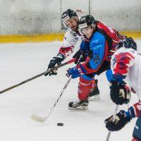 """Optibet hokeja līgas spēle starp """"Zemgale/LLU"""" un HK """"Prizma"""" 2018. gada 19. septembrī."""