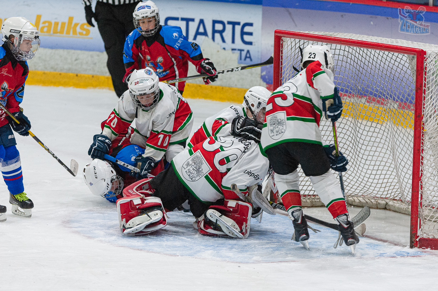 Jelgavas hokeja skola JLSS U11 A - Liepāja SSS 2010 LBJČH 13102019-16