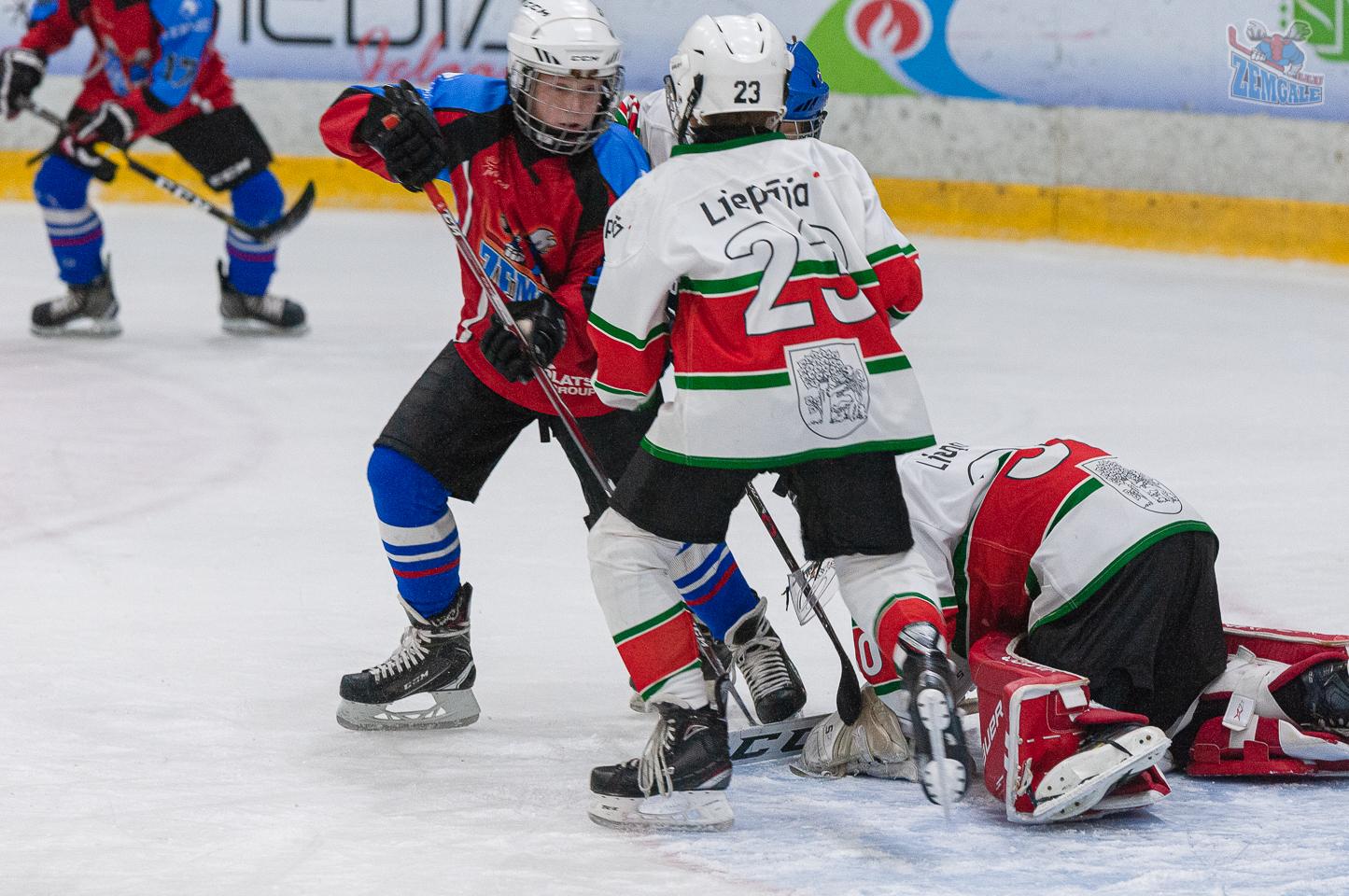 Jelgavas hokeja skola JLSS U11 A - Liepāja SSS 2010 LBJČH 13102019-17