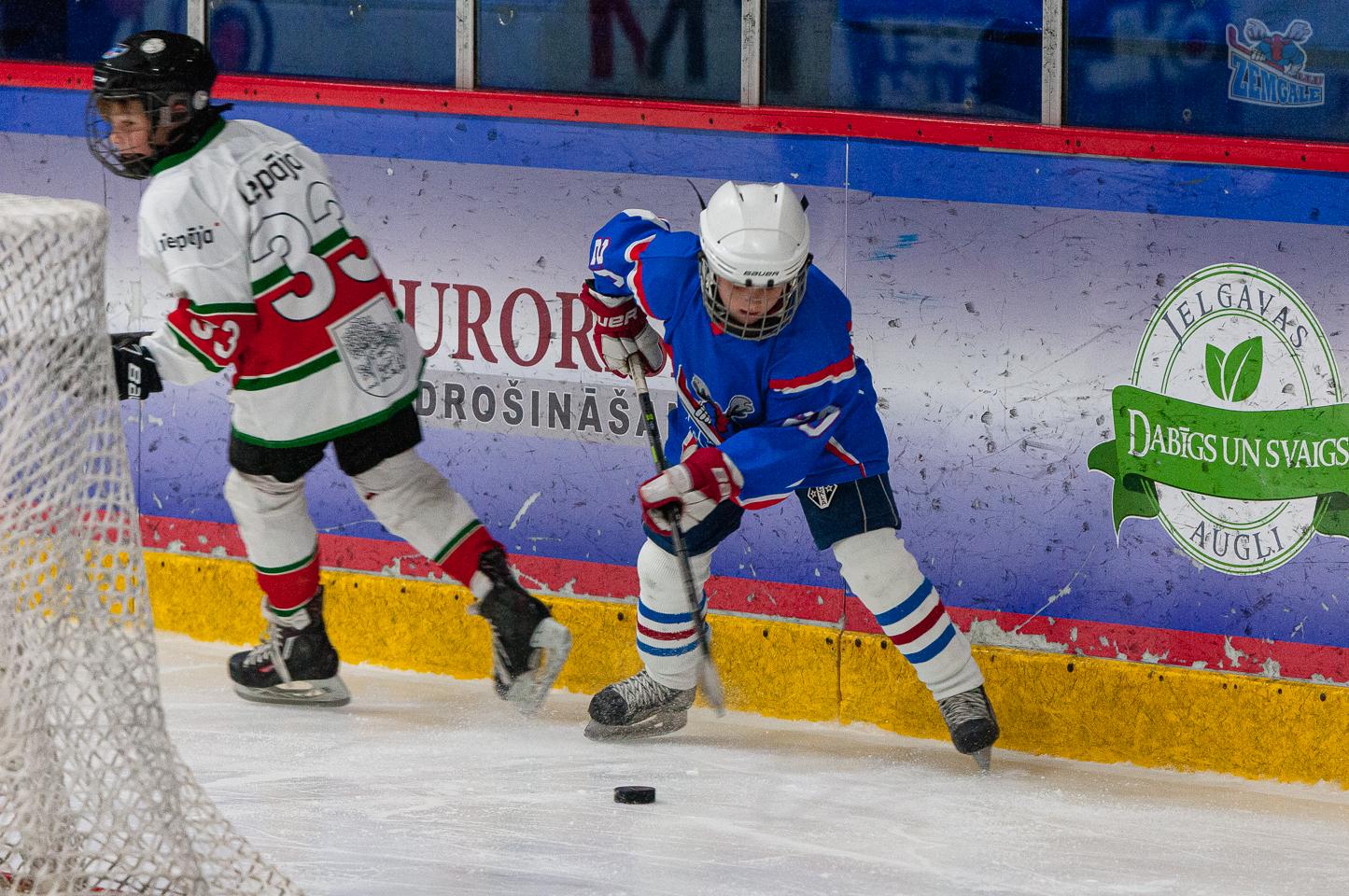 Jelgavas hokeja skola JLSS U11 B - Liepāja SSS LBJČH 22092019-24