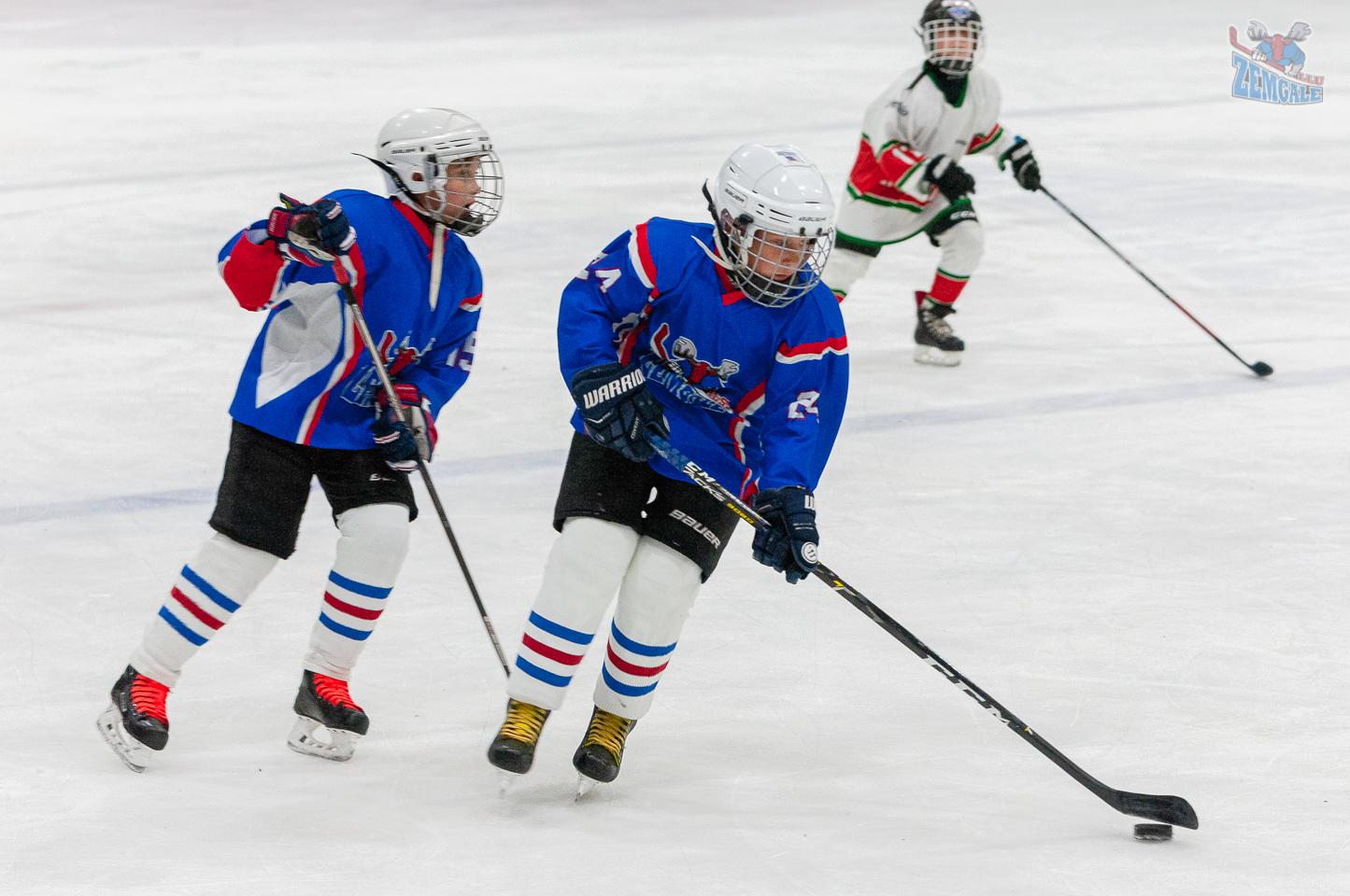 Jelgavas hokeja skola JLSS U11 B - Liepāja SSS LBJČH 22092019-08