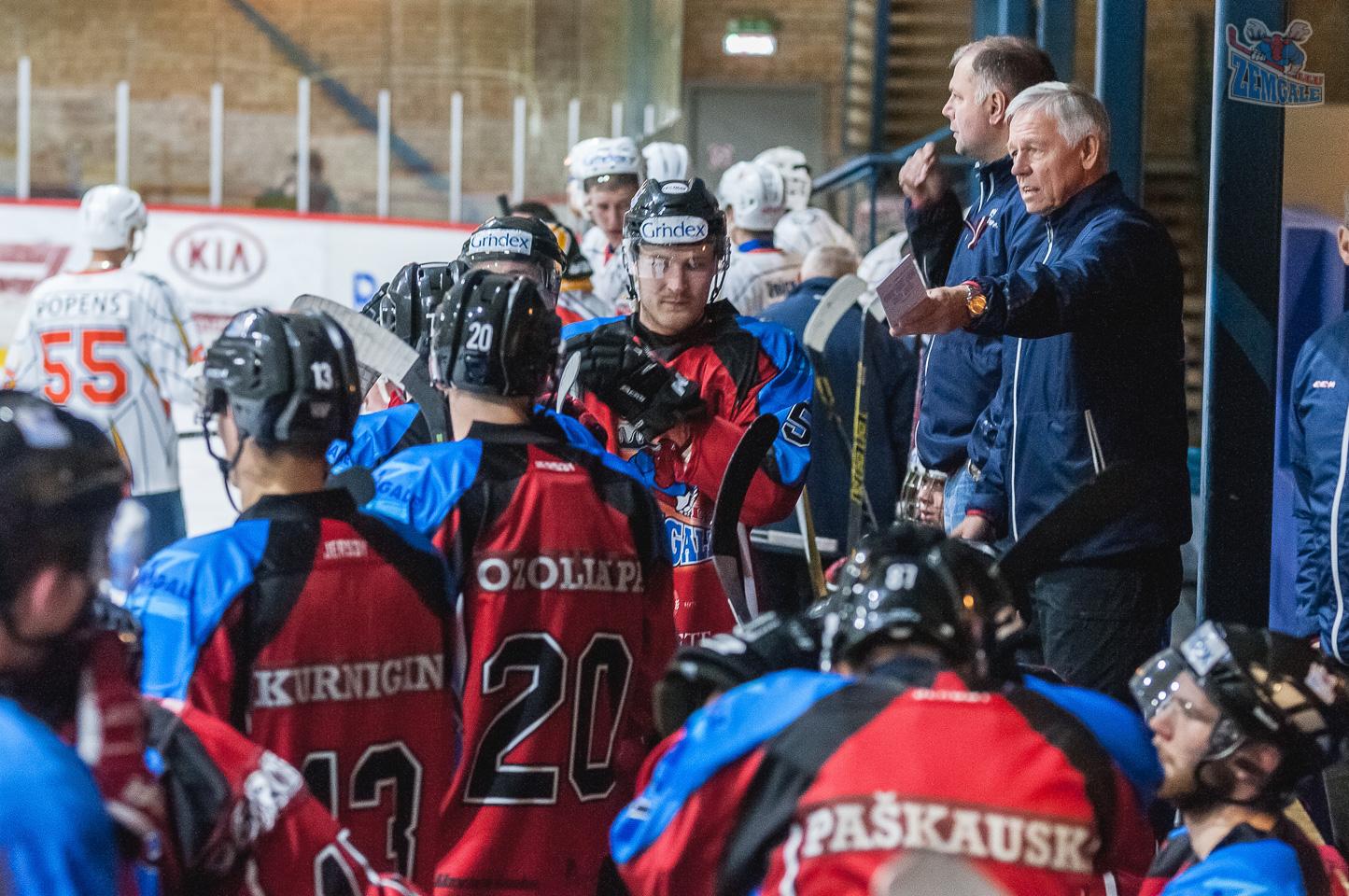 Zemgale LLU galvenais treneris Haralds Vasiļjevs 12.11.2016.