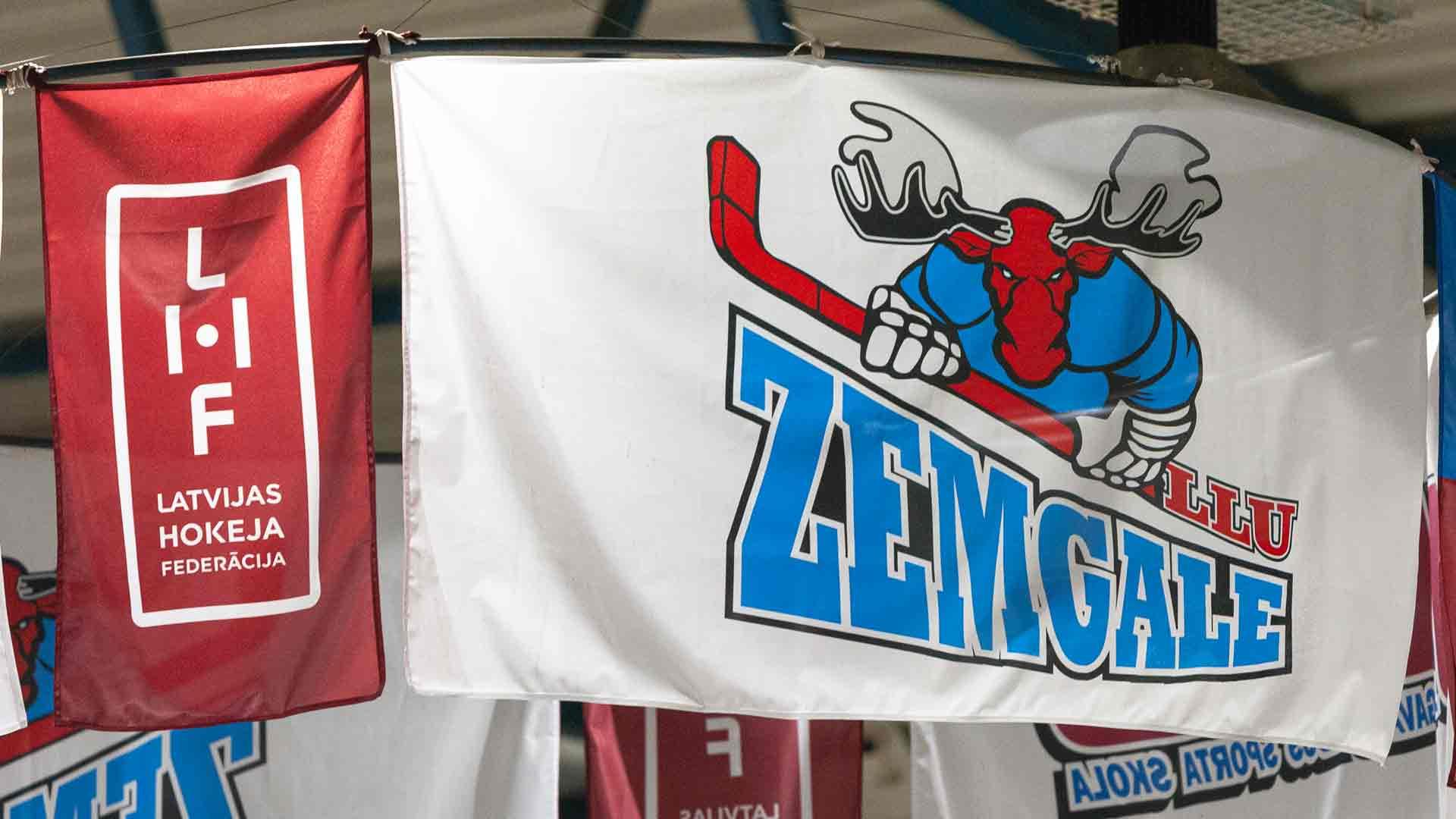 zemgale/llu karogs
